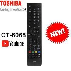 REMOTE ĐIỀU KHIỂN TIVI TOSHIBA SMART CT-8068 (ĐEN-YOUTUBE)