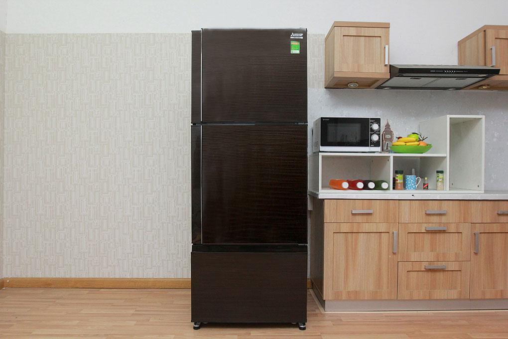 Tủ Lạnh MITSUBISHI Inverter 414 Lít MR-V50EH-BR-V