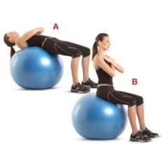 Bóng tập yoga 65cm