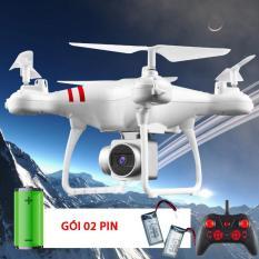 [Gói 02 pin] Máy bay Flycam KY101 Cao cấp, kết nối Wifi với điện thoại Có tay cầm điều khiển từ xa