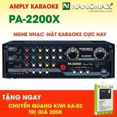 Amply karaoke Nanomax PA-2200X