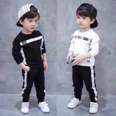 bộ đồ bé trai chữ HBA(kèm ảnh shop chụp)