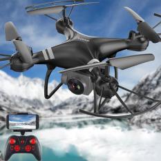 [Gía sốc] Máy bay Flycam KY101 Cao cấp, kết nối Wifi với điện thoại Có tay cầm điều khiển từ xa (Đen)