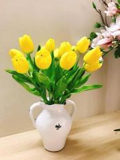 Hoa giả – 10 cành Tulip silicon đẹp như thật