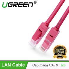 Dây mạng bấm sẵn 2 đầu Cat6 UTP Patch Cords – Dài 3M – UGREEN NW101 – 11212 – Hãng phân phối chính thức