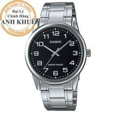 Đồng hồ nam dây kim loại Casio Anh Khuê MTP-V001D-1BUDF