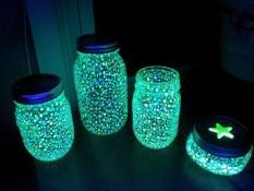 hạt dạ quang hạt phát sáng