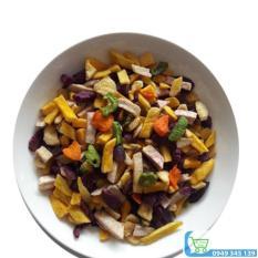 Combo 2kg trái cây sấy hàng vụn ( 1kg thập cẩm 500g chuối 500g khoai lang)