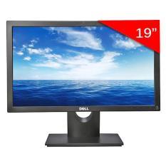 Màn hình Dell 18.5 inch Wide LED ( Model E1916HV ). Hàng chính hãng
