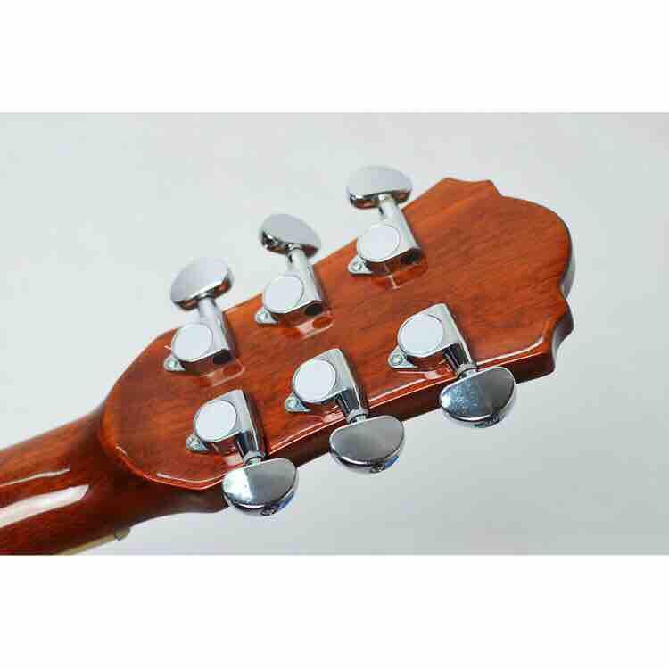 Khoá đàn guitar acoustic đúc đặc(khóa đúc niken, 6 chiếc, đầy đủ phụ kiện)