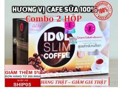 Bộ 2 hộp cà phê Idol Slim Coffee (Mỗi hộp 10 gói nhỏ x 15g) – Thái Lan – Ca phe giam can IdolSlim Coffee – Giam can hieu qua