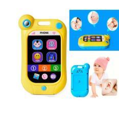 Đồ chơi điện thoại cảm ứng đa chức năng phát nhạc, tiếng động vật 80 âm thanh cho bé