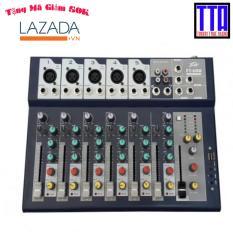 Bộ trộn âm thanh Mixer Peavey karaoke, nhạc sống Mini F7 USB, Bluetooth