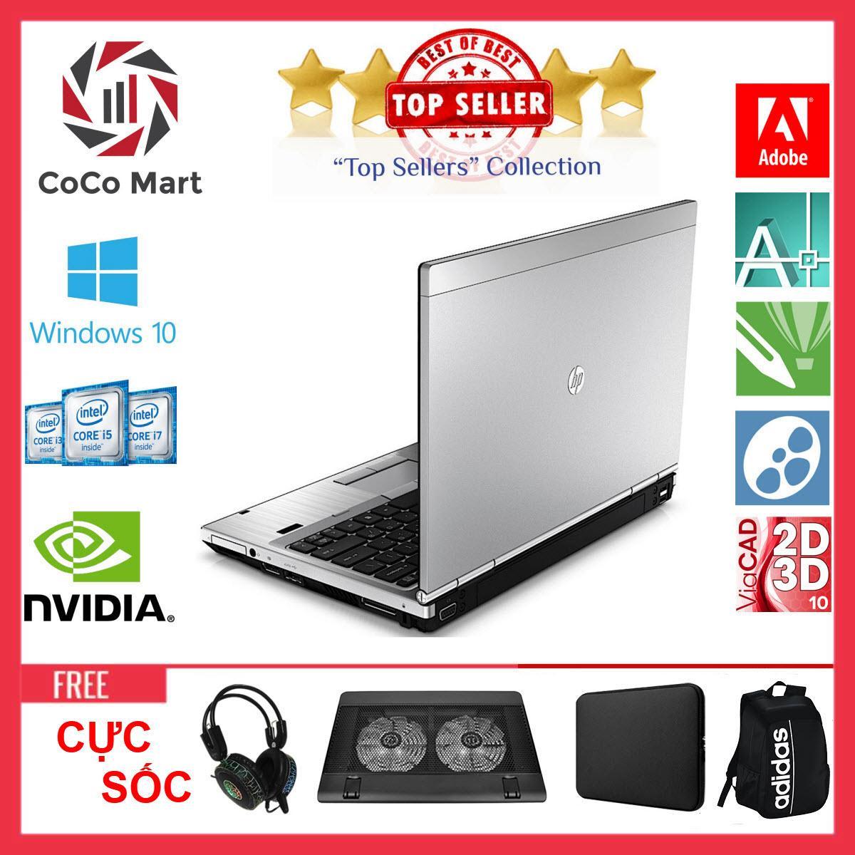 Laptop HP EliteBook 2560p Chạy CPU i7-2620M, 12.5inch, 16GB, SSD 480GB + Bộ Quà Tặng - Hàng Nhập Khẩu
