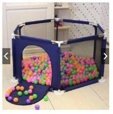 Khuây bóng khung thép vui chơi cho bé kèm 100 bóng