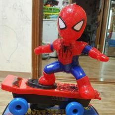 (FREE SHIP – FREE QUÀ TẶNG) Đồ chơi người nhện lướt ván cho bé