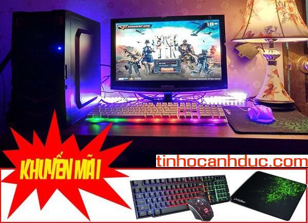 Bộ máy tính ADAS3LE màn hình LED 20 SSD 120 TẶNG phím chuột GAMER NEW