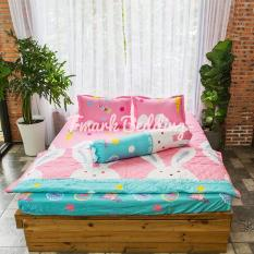 Bộ ga gối giường Cotton Poly Tmark (Thỏ con)