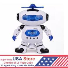 Robot Biết Nhảy Và Hát Xoay 360 Độ US04019 [ Giảm Thêm 20% Nhập Voucher USAVIP1 ] U2019