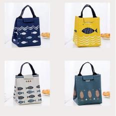 Túi Đựng Đồ Ăn Trưa Giữ Nhiệt Tam Giác siêu Cute ( Shop giao màu ngẫu nhiên )
