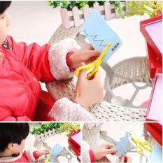 Bộ đồ chơi cắt giấy tạo hình phát triển tư duy cho bé