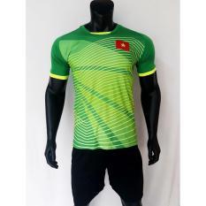 Bộ quần áo bóng đá thủ môn Việt Nam xanh lá Bùi Tiến Dũng 2018