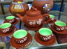 Bộ ấm trà tử sa đỏ