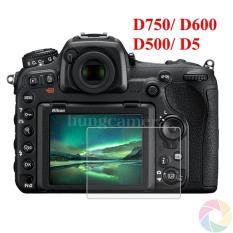 Kính cường lực cho máy ảnh Nikon D750/ D600/ D500/ D5…