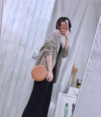 Áo khoác vest caro nữ Hàn Quốc