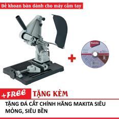 Bộ chân đế máy cắt bàn TZ6103 (loại đế dày 3kgs TZ-6103) dùng cho máy mài – kèm đá cắt mỏng Makita.