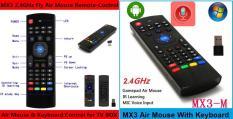 Chuột bay Bluetooth MX3- Pro có Voice dành cho Smart TV , Tivi Box , Laptop, PC,… bảo hành 12 tháng