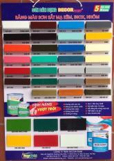 Sơn Sắt Mạ Kẽm Decor Paint 2 Thành phần Epoxy (Màu trắng bóng: DCP – 001