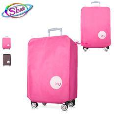 Vải Bọc trùm Vali vải – nhựa Size 20 – 24 – 28 inch (nâu, hồng, trắng)