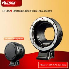 Ngàm chuyển Auto Focus Viltrox EF-EOS M Cho Canon M M1 M2 M3 M5 M6 M10 EF-M Mount Camera