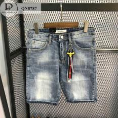 quần short jean nam kiểu dáng hàn quốc