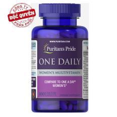 Vitamin tổng hợp cho phụ nữ 1 viên/ngày Puritan's Pride One Daily Women's Multivitamin 100 viên HSD tháng 4/2020