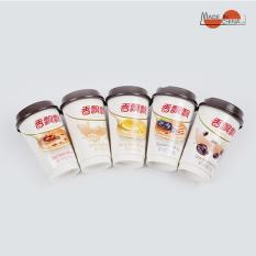 Trà sữa uống liền cao cấp XIANGPIAOPIAO combo 5 vị cốc cao