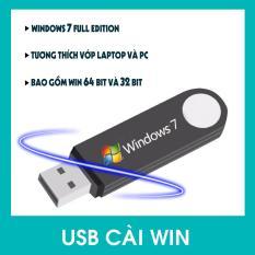 USB Bộ Cài Đặt Hệ Điều Hành Window 7 32bit/64bit Full Editon 2018 Auto – Tích Hợp Sẵn Bộ Phần Mềm Cơ Bản.