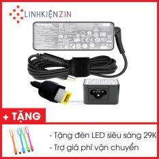 Sạc Laptop Lenovo ThinkPad X240 X240s X240i 20V 2.25A vuông USB tặng đèn LED USB