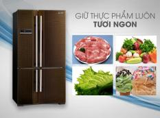 Tủ lạnh Mitsubishi MR-L72EH-BRW-V 580L