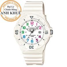 Đồng hồ nữ dây nhựa Casio Anh Khuê LRW-200H-7BVDF