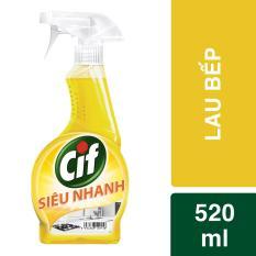 Nước lau bếp Cif 520ml