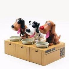 Đồ chơi chó ăn đồng xu FV981(kèm pin),Bộ đồ chơi chó ăn xu,Do choi cho an xu,chó ăn xu