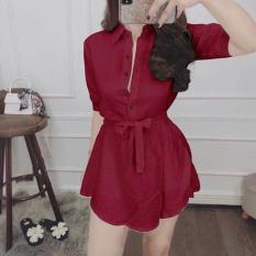 Sơ Mi From Rộng Gỉa Đầm Thời Trang Glamour WM SOMI 800021