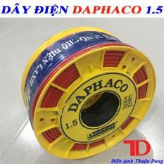 DÂY ĐIỆN ĐƠN DAPHACO 1.5 – 100 MÉT