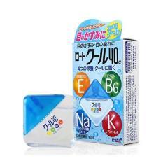 Thuốc nhỏ mắt Rohto Vitamin hộp xanh 12ml – hàng nội địa Nhật