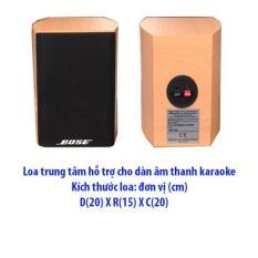 Loa trung tâm hỗ trợ nghe nhạc karaoke cho dàn âm thanh