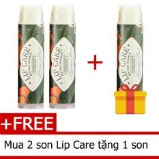Bộ 2 Son dưỡng môi Lip Care Tặng 1 son dưỡng