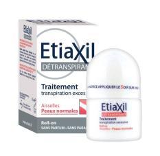 Lăn khử mùi hỗ trợ đặc trị khử mùi hiệu quả Etiaxil Détranspirant Aisselles 15ml #Peaux Normales (dành cho da thường)