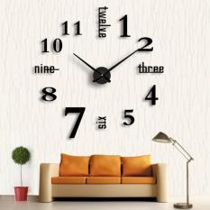 Đồng hồ trang trí treo tường – gắn tường sáng tạo loại lớn 3D DH01-D Decoshop68 giá tốt
